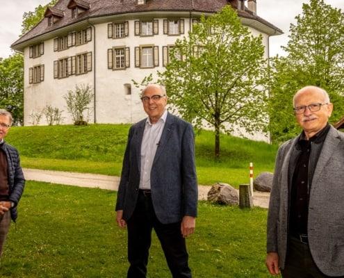Niklaus Messer, Rudolf Mäusli, Urs Hintermann